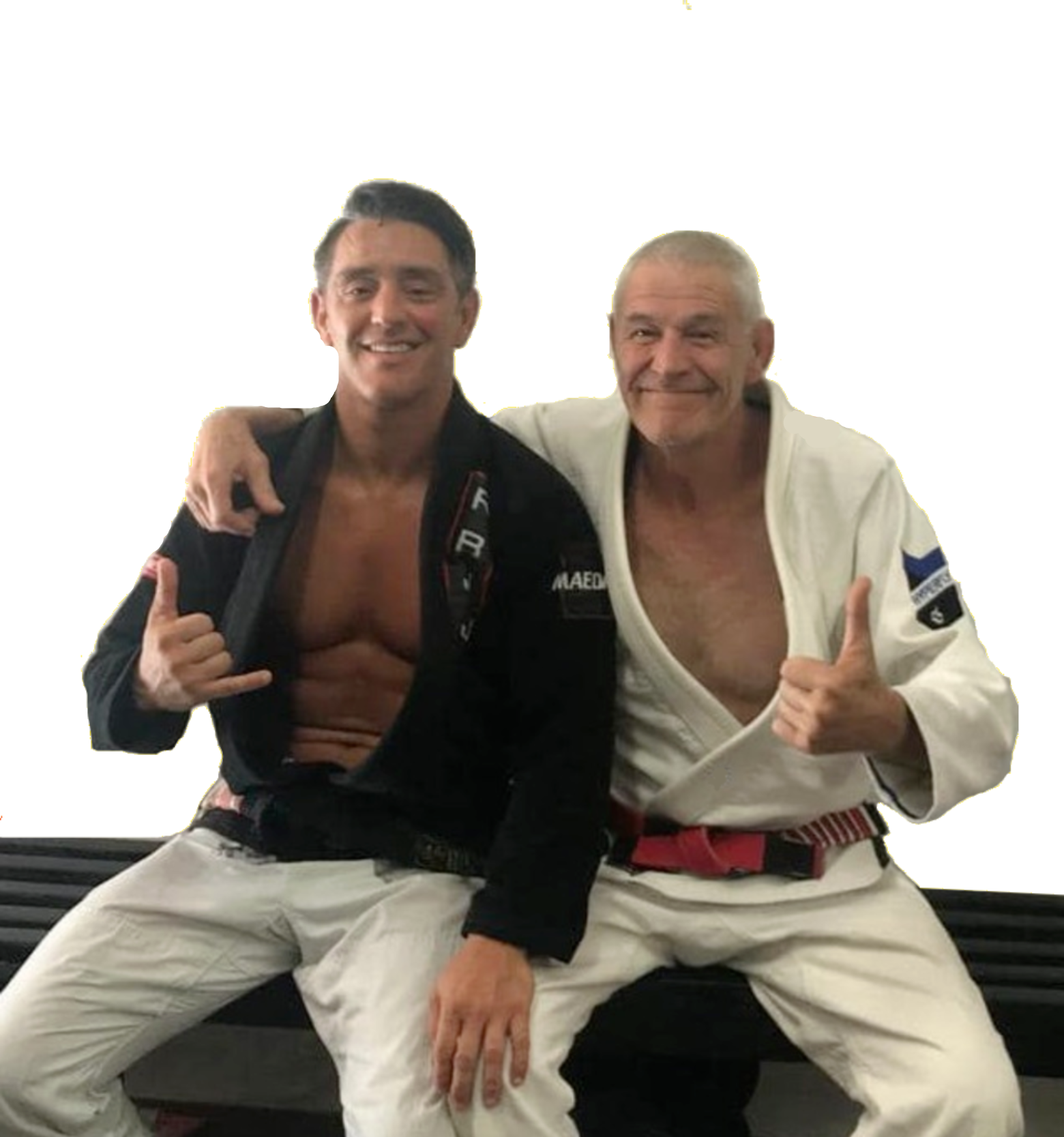 Rodrigo Salazar and Fabio Santos Jiu Jitsu